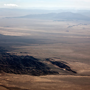 Aerials over the Mojave Desert