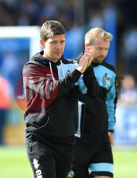 Bristol Rovers Manager Darrell Clarke - Mandatory by-line: Paul Knight/JMP - Mobile: 07966 386802 - 12/09/2015 -  FOOTBALL - Memorial Stadium - Bristol, England -  Bristol Rovers v Accrington Stanley - Sky Bet League Two