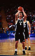 Sean Marks during the Men's basketball match between the New Zealand Tall Blacks and France at the Olympics in Sydney, Australia on 17 September, 2000. Photo: PHOTOSPORT<br /><br /><br /><br /><br />170900 *** Local Caption ***