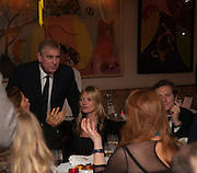 PRINCE ANDREW; KATE MOSS, Chinese New Year dinner given by Sir David Tang. China Tang. Park Lane. London. 4 February 2013.