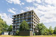 Nederland, Rosmalen, 20150711.COA zoekt ruimte voor asielzoekerscentrum in Den Bosch<br /> Gebouwen van Coudewater aan de Berlicumseweg in Rosmalen.Nu is Geestelijke Gezondheidszorg Oost-Brabant (GGZ Oost-Brabant) in het merendeel van deze gebouwen gevestigd.Het Centraal Orgaan opvang Asielzoekers (COA) heeft Den Bosch gevraagd of het een asielzoekerscentrum van 600 tot 800 asielzoekers in de gemeente kan realiseren. De gemeente wil daaraan meewerken en de voorkeur gaar uit naar Coudewater.Netherlands, Rosmalen, 20150711.Buildings Coudewater the Berlicumseweg in Rosmalen.Now Mental Health East Brabant (GGZ Oost Brabant) based in the majority of these buildings.The Central Agency for the Reception of Asylum Seekers (COA) Den Bosch has asked if it can realize a refugee center from 600 to 800 asylum seekers in the community. The municipality wants to contribute to it and prefer to cook from Coudewater.