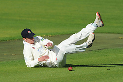 Will Tavare of Gloucestershire - Mandatory byline: Dougie Allward/JMP - 07966386802 - 22/09/2015 - Cricket - County Ground -Bristol,England - Gloucestershire CCC v Glamorgan CCC - LV=County Championship