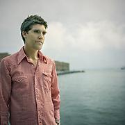 Dave Doobinin in Red Hook, Brooklyn