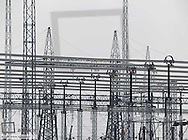 Electric power transformation substation