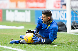 January 26, 2019 - Rotherham, England, United Kingdom - Kiko Casilla of Leeds United warming up before the Sky Bet Championship match between Rotherham United and Leeds United at the New York Stadium, Rotherham, England, UK, on Saturday 26th January 2019. (Credit Image: © Mark Fletcher/NurPhoto via ZUMA Press)