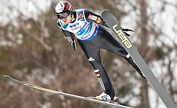 21.03.2010, Planica, Kranjska Gora, SLO, FIS SKI Flying World Championships 2010, Flying Hill Team, im Bild DAMJAN Jernej, ( SLO ), EXPA Pictures © 2010, PhotoCredit: EXPA/ J. Groder / SPORTIDA PHOTO AGENCY