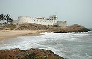 Slave fort, Cape Coast. Ghana, West Africa, Africa.© Demelza Cloke