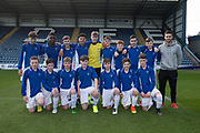 The St Johns side who faced Monifieth High in the Urquart Trophy final at Dens Park, Dundee, Photo: David Young<br /> <br />  - &copy; David Young - www.davidyoungphoto.co.uk - email: davidyoungphoto@gmail.com