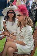 ESRA GOYMEN; DILEK AR, Cartier Queen's Cup. Guards Polo Club, Windsor Great Park. 17 June 2012