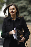 011719 Queen Letizia attends a Meeting with the Board of Directors of FEDER
