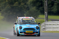 #11 Max Bladon Mini Cooper during the MINI Challenge - Cooper S, Cooper & Open at Oulton Park, Little Budworth, Cheshire, United Kingdom. August 20 2016. World Copyright Peter Taylor/PSP.