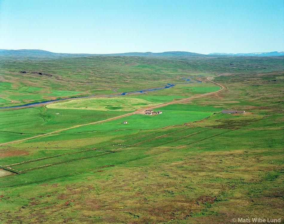 Lambeyrar séð til norðausturs, Dalabyggð áður Laxárdalshreppur. / Lambeyrar viewing northheast, Dalabyggd former Laxardalshreppur.