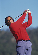 Seve Ballesteros<br /> 1988<br /> The Majorcan Open<br /> Santa Ponsa GC<br /> Spain<br /> <br /> <br /> Golf Pictures Credit:  Mark Newcombe / www.visionsingolf.com