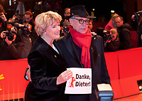 Monika Grütters, Federal Government Commissioner for Culture and the Media with Festival Director Dieter Kosslick at the Award Ceremony red carpet at the 69th Berlinale International Film Festival, on Saturday 16th February 2019, Berlinale Palast, Berlin, Germany.