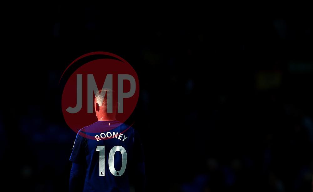 Wayne Rooney of Everton walks into darkness - Mandatory by-line: Robbie Stephenson/JMP - 09/09/2017 - FOOTBALL - Goodison Park - Liverpool, England - Everton v Tottenham Hotspur - Premier League
