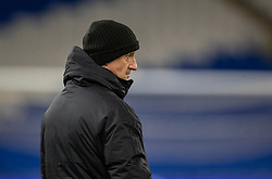 CARDIFF, WALES - Monday, November 18, 2019: Hungary's head coach Marco Rossi during a training session at the Cardiff City Stadium ahead of the final UEFA Euro 2020 Qualifying Group E match between Wales and Hungary. (Pic by David Rawcliffe/Propaganda)