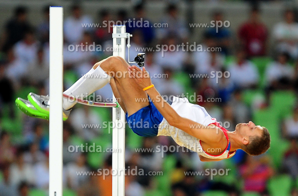 31.08.2011, Daegu Stadium, Daegu, KOR, IAAF, World Championships 2011, im Bild .ALEKSANDR SHUSTOV, EXPA Pictures © 2011, PhotoCredit: EXPA/ Newspix/ MAREK BICZYK +++++ ATTENTION - FOR AUSTRIA/ AUT, SLOVENIA/ SLO, SERBIA/ SRB an CROATIA/ CRO, SWISS/ SUI and SWEDEN/ SWE CLIENT ONLY +++++ ..