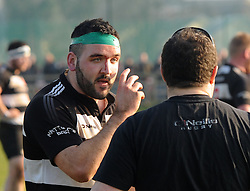 Ballinrobe&rsquo;s Jack Winters getting instructions from coach Trevor Watson.<br />Pic Conor McKeown