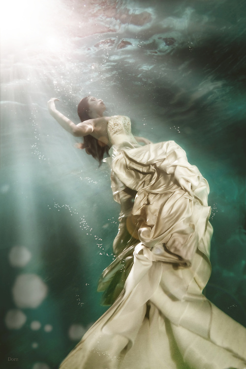 &quot;UnderCurrents&quot; A surrealistic underwater photo series by Nate Dorn Images.<br />