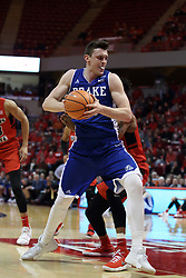 21 February 2018:  Nick McGlynn during a College mens basketball game between the Drake Bulldogs and Illinois State Redbirds in Redbird Arena, Normal IL