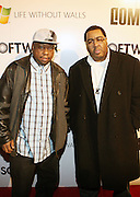The Awesome Two at the Common Celebration Capsule Line Launch with Softwear by Microsoft at Skylight Studios on December 3, 2008 in New York City..Microsoft celebrates the launch of a limited-edition capsule collection of SOFTWEAR by Microsoft graphic tees designed by Common. The t-shirt  designs. inspired by the 1980's when both Microsoft and and Hip Hop really came of age, include iconography that depicts shared principles of the technology company and the Hip Hop Star.