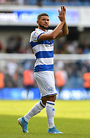 Football - 2019 / 2020 Sky Bet (EFL) Championship - Queens Park Rangers vs. Luton Town<br /> <br /> Queens Park Rangers' Nahki Wells applauds the fans at the final whistle, at Kiyan Prince Foundation Stadium (Loftus Road).<br /> <br /> COLORSPORT/ASHLEY WESTERN
