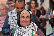 A vigil and march in solidarity with Palestinians ended peacefully in Montreal in a wave of local protests on both sides of the Israel-Palestine conflict.