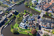 Nederland, Overijssel, Zwolle, 01-05-2013; historische binnenstad Zwolle, met Noordereiland en Thorbeckegracht.<br /> Historical inner city of Zwolle with canals.<br /> luchtfoto (toeslag op standaardtarieven);<br /> aerial photo (additional fee required);<br /> copyright foto/photo Siebe Swart.