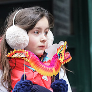 London's Chinese community hold the annual new year parade that this year celebrates the year of the Rooster. by See Li