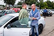 WIJDEWORMER - 08-07-2016, afscheid Vincent Jansen, AFAS trainingscomplex, oud trainer van Vincent, Fred Grim, trainer van Almere City.