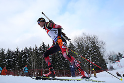 10.03.2016, Holmenkollen, Oslo, NOR, IBU Weltmeisterschaft Biathlion, Oslo, 20km, Herren, im Bild Dominik Landentinger (AUT) // during Mens 20km individual Race of the IBU World Championships, Oslo 2016 at the Holmenkollen in Oslo, Norway on 2016/03/10. EXPA Pictures © 2016, PhotoCredit: EXPA/ Newspix/ Tomasz Jastrzebowski<br /> <br /> *****ATTENTION - for AUT, SLO, CRO, SRB, BIH, MAZ, TUR, SUI, SWE only*****