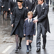 LUX/Luxemburg/20190504 - Funeral of HRH Grand Duke Jean/Uitvaart Groothertog Jean, Familie van de Groothertog