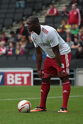 Bristol City's Marlon Harewood  - Photo mandatory by-line: Nigel Pitts-Drake/JMP - Tel: Mobile: 07966 386802 24/08/2013 - SPORT - FOOTBALL - Stadium MK - Milton Keynes - Milton Keynes Dons V Bristol City - Sky Bet League One