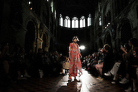 PPQ La Fiesta Spring Summer 2017 presentation at St Bartholomew the Great in occasion of London Fashion Week SS17