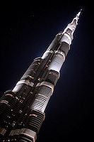 Burj Khalifa, Dubai, tallest building in the world.