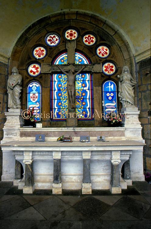 France, Brittany.  Ste. Anne d Auray. Scala Sancta.