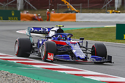 May 11, 2019 - Barcelona, Catalonia, Spain - Scuderia Toro Rosso HONDA driver Alexander Albon (23) of Thailand during F1 Grand Prix free practice celebrated at Circuit of Barcelona 11th May 2019 in Barcelona, Spain. (Credit Image: © Mikel Trigueros/NurPhoto via ZUMA Press)
