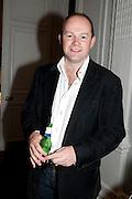 RICHARD INGLEBY, MCA- Sydney cocktails. Brandon rooms. ICA. London. 11 October 2011. <br /> <br />  , -DO NOT ARCHIVE-© Copyright Photograph by Dafydd Jones. 248 Clapham Rd. London SW9 0PZ. Tel 0207 820 0771. www.dafjones.com.