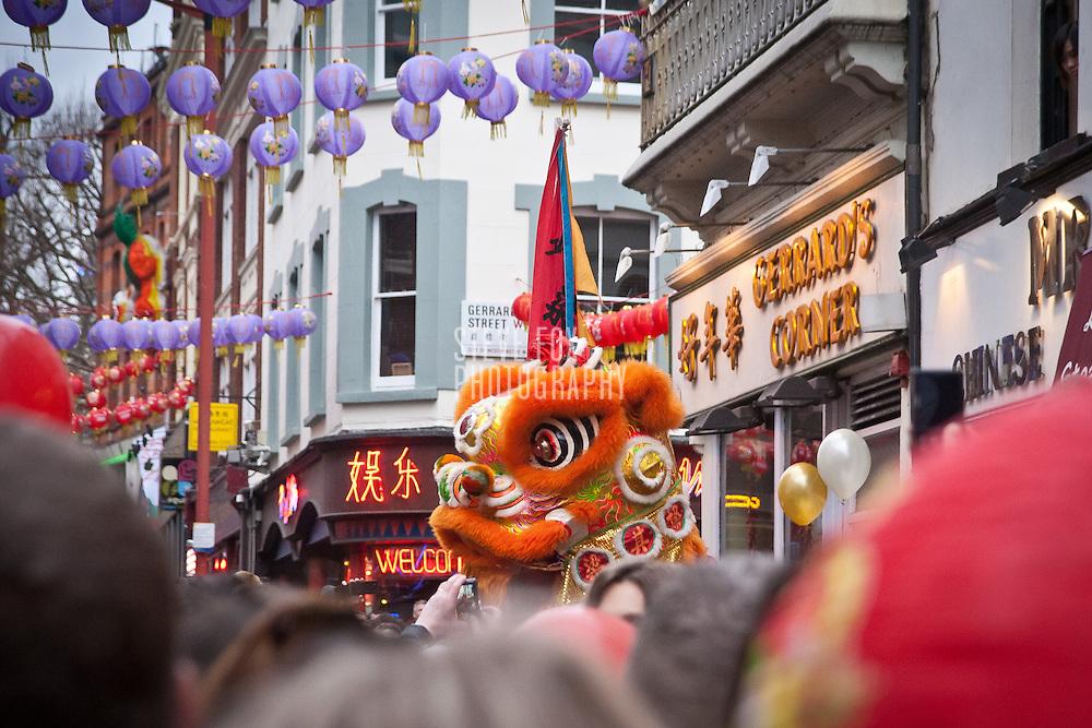 Dragon Dance, Chinese New Year 2011, London, England