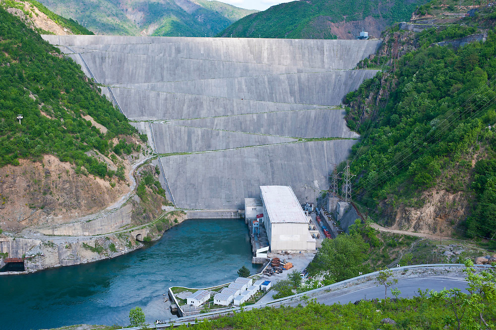 Fierze Staudamm, Albanien,Balkan*Fierze dam, Albania,Balkan