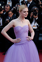 Elle Fanning at The Beguiled gala screening at the 70th Cannes Film Festival Wednesday 24th May 2017, Cannes, France. Photo credit: Doreen Kennedy