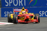 DURBAN, South Africa, Team China's Congfu Cheng  (6th 1:18:909) during the third practice session held as part of the A1GP race weekend in Durban, South Africa on Saturday 23 February 2008.  Photo: SportsPics/SPORTZPICS