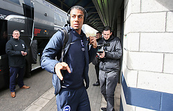 Bernardo of Brighton and Hove Albion steps off the coach - Mandatory by-line: Arron Gent/JMP - 17/03/2019 - FOOTBALL - The Den - London, England - Millwall v Brighton and Hove Albion - Emirates FA Cup Quarter Final