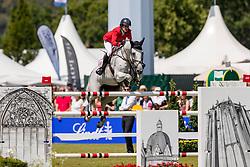 KRAUT Laura(USA), Zeremonie<br /> Aachen - CHIO 2018<br /> Rolex Grand Prix 1. Umlauf<br /> Der Grosse Preis von Aachen<br /> 22. Juli 2018<br /> © www.sportfotos-lafrentz.de/Stefan Lafrentz