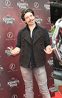 Lucas Rush, Knights Of The Rose, Classic Rock West End Musical - Press Night Red Carpet Premiere, Arts Theatre, London, UK, 05 July 2018, Photo by Richard Goldschmidt