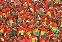 Photo: Steve Bond/Richard Lane Photography.<br /> Ghana v Morocco. Africa Cup of Nations. 28/01/2008. Ghana fans