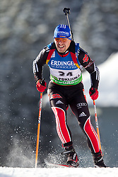 Michael Greis of Germany during the Men 10 km Sprint of the e.on IBU Biathlon World Cup on Saturday, December 18, 2010 in Pokljuka, Slovenia. The fourth e.on IBU World Cup stage is taking place in Rudno polje - Pokljuka, Slovenia until Sunday December 19, 2010. (Photo By Vid Ponikvar / Sportida.com)