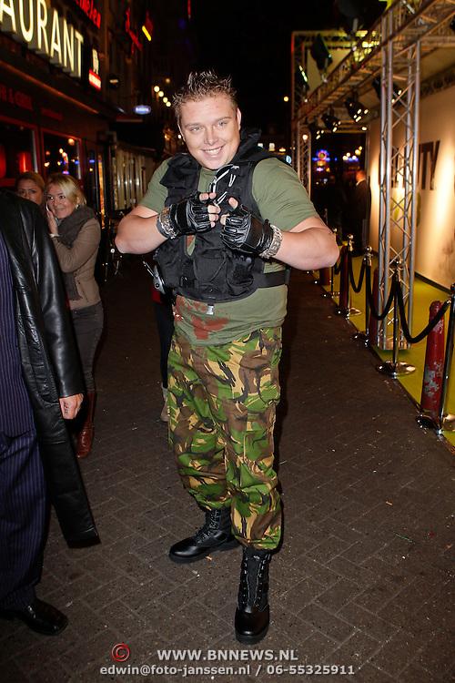 NLD/Amsterdam/20111107- Lancering Call of Duty MW3, Sterretje, Tony Wyczynski, dj Tony Star