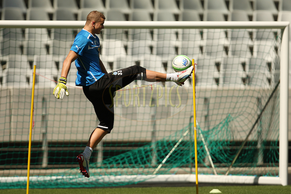 Andreas Hirzel during the Grasshoppers Club Zurich training session held at Cape Town Stadium in Cape Town South Africa on the 19th January 2013. Photo by:  Jacques Rossouw/Sportzpics