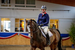 Class de Luxe mit Rebekka Koehne<br /> Klein Offenseth - Hengstschau Stall Hell 2020<br /> © www.sportfotos-lafrentz.de/Stefan Lafrentz